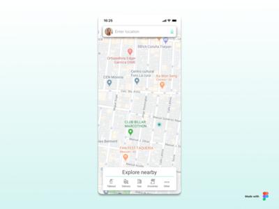 Daily #020 Location Tracker
