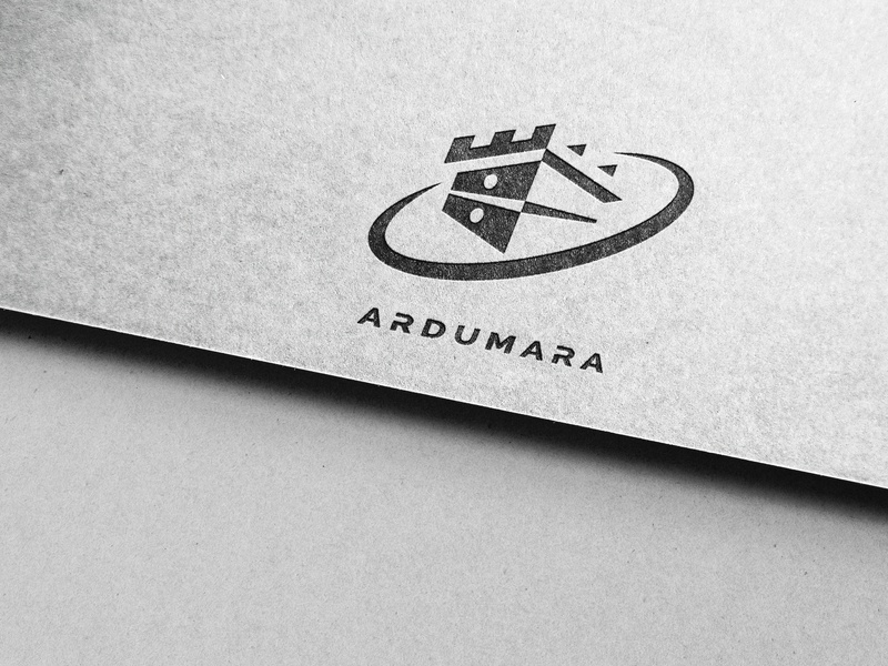 ARDUMARA icon vector type typography logo illustrator illustration flat design branding