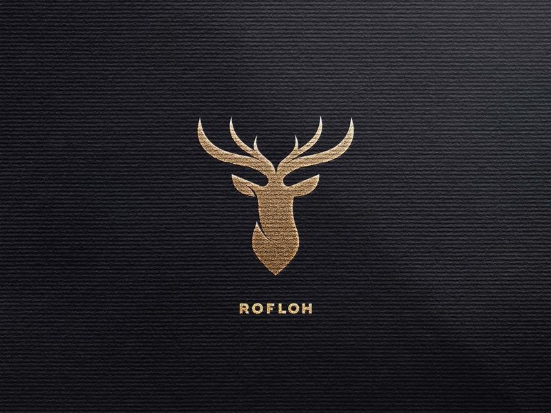 Rofloh vector typography type logo illustrator illustration icon flat design branding