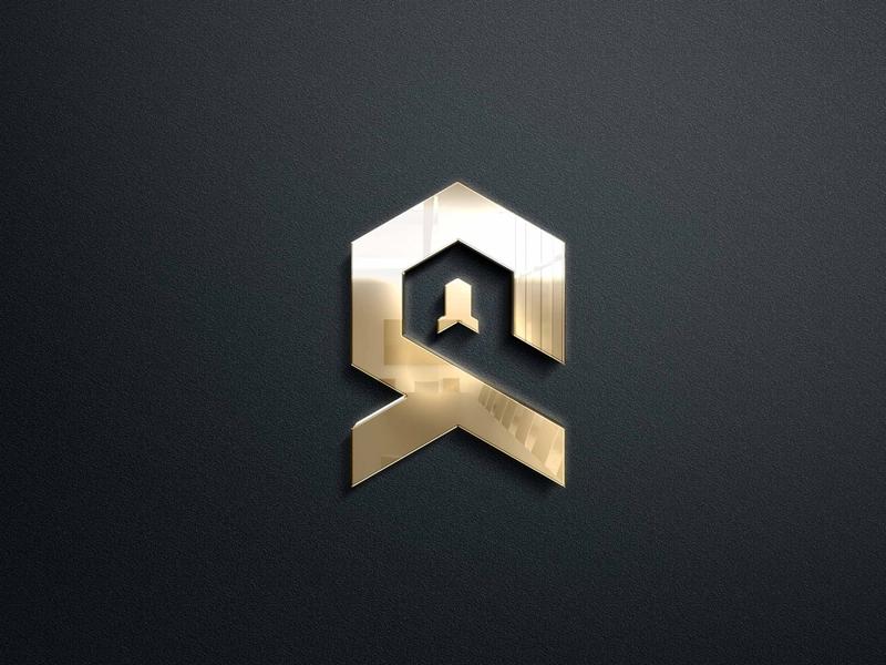 ROCKET QUOTATION typography type logo illustrator illustration icon flat design branding