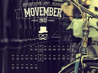 Moustache Season - Movember