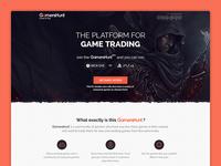 Gamershunt Landing Page