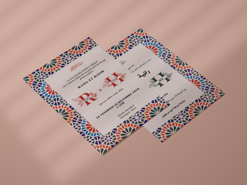 Marrakech Nights marrakech tiles card invitation event wedding wedding invitation morocco night