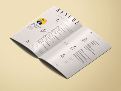 Personal Resume Design brand identity brand design brand ui top rated cv template modern resume cv personal project job application job branding personal cv resume cv design cv resume