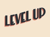 Level Up Lettering
