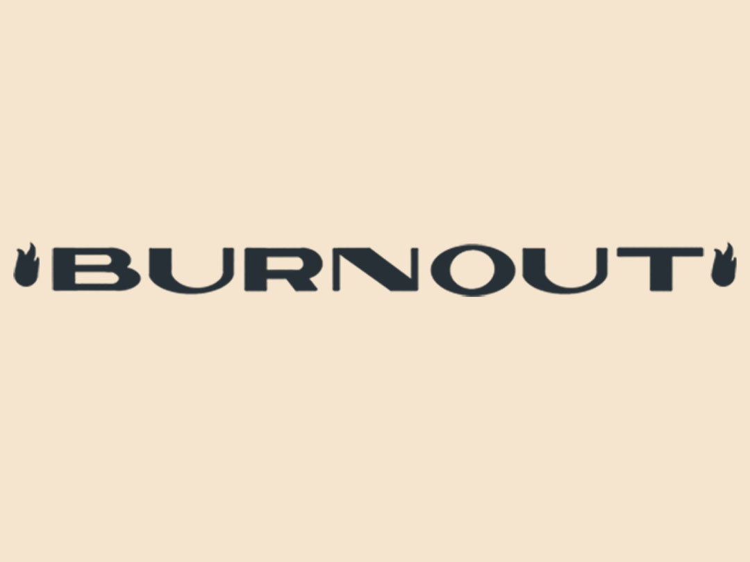 Burnout Lettering typography art deco design type lettering