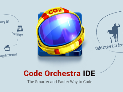 Cosmo Co2 ui icon app splash web landing