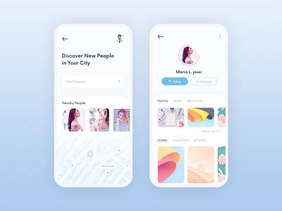 Social App Concept - ChatBox ui social app mobile app message app modern clean minimal photoshop adobe adobe xd sketch chat social ios app