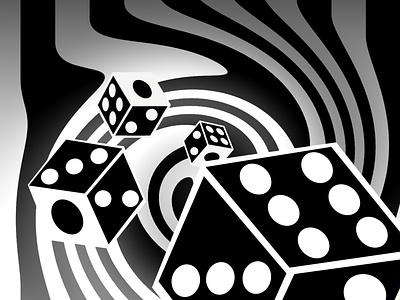 High Roller 🎲 illusion illustration