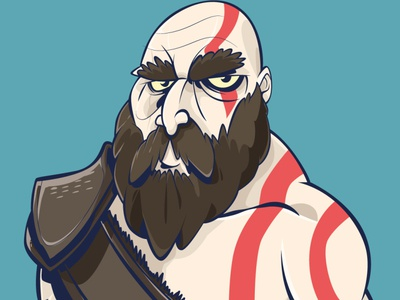 KRATOS - GOD OF WAR games design gamer games kratos