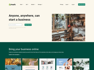 Shopify template UI templatedesign webdesign website design ui designer uiux ux ui