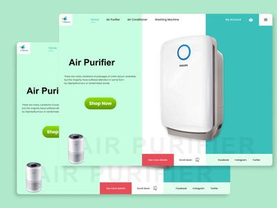 Daily UI Challenge #02 Landing page design xd figma home page hero section landing page daily challenge ui challenge uiux daily ui daily ui challenge