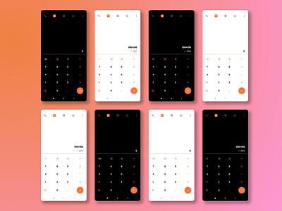 Daily UI Challenge #04 Calculator ux ui ui challenge design challenge ui design daily ui daily ui challenge