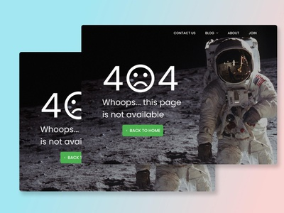 Daily UI Challenge #08 404 page day challenge 100 day ui challenge 30 day ui challenge uiux ux ui error page 404 page daily challenge ui challenge daily ui challenge