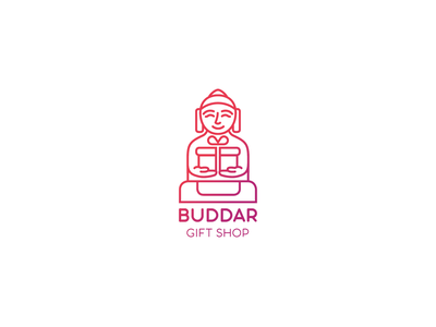 Buddah logo concept mascot logo buddah logo minimalism mascot design graphic design corporate style identity brand