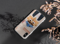 cute profile picture phone case cute illustration