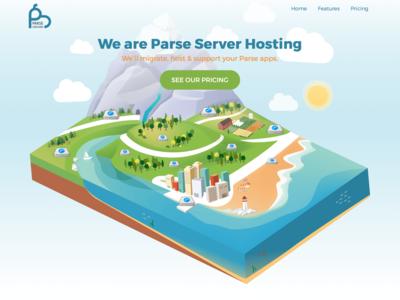 Parseground.com Landing page