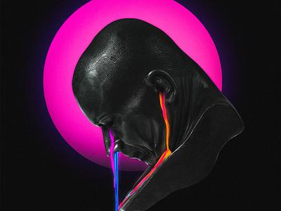 Cure for Grief vibrant 3d digital illustration
