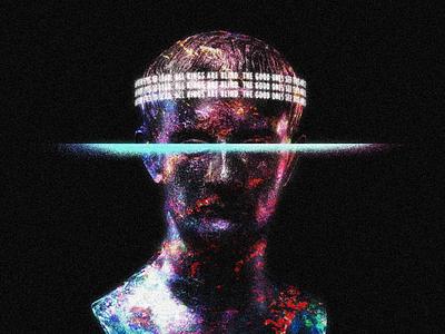 Blind King digital illustration
