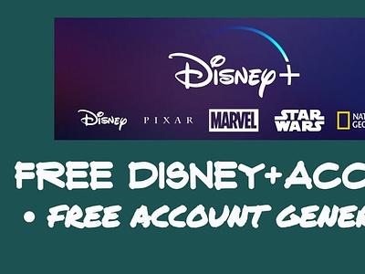 %*^ Hack Disney+ Plus Account Free Generator 2020 web typography vector branding illustration