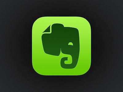 Evernote iOS 7 Icon evernote ios icon