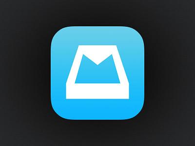 Mailbox iOS 7 Icon mailbox dropbox ios icon