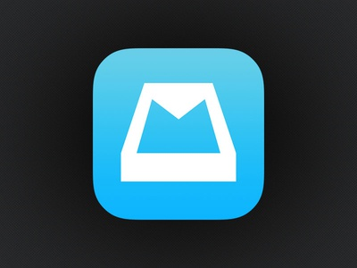 Mailbox iOS 7 Icon mailbox dropbox ios icon