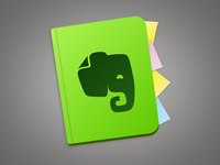 Evernote Mac Icon Revision