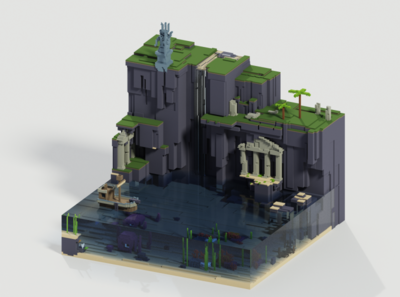 Voxel World - Neptune's Cove