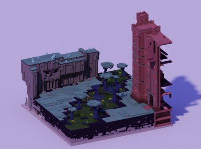 Voxel World - The Undead Swamp