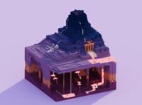 Voxel World - Mount Infernus