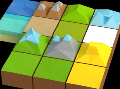 Terrain Tiles for Battle of Polytopia - Game of Thrones Intro