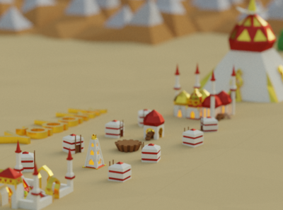 Yaddak City for Battle of Polytopia Game of Thrones Intro