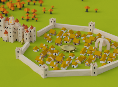 Hoodrick City for Battle of Polytopia Game of Thrones Intro