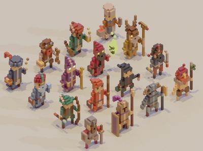 Adventure Mini-Figs - Character Classes