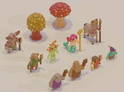 Adventure Mini-Figs - Primal