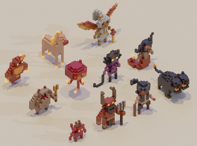 Adventure Mini-Figs - Infernal