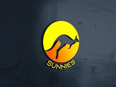 Sunnies kangaroo dailylogo sunnies branding dailylogochallenge logo