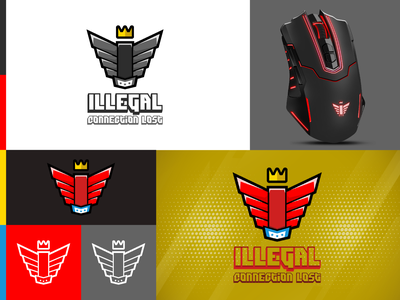 Brand Identity of an eSports Group - Illegal brand identity designer brand identity design logos esports monogram logomaker logo designer logodesigns logo design design a logo logodesignersclub logodesigner logodesign dailylogo branding logo
