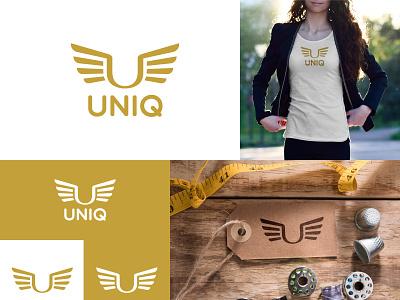 Uniq Logo Design monogram elegant logo elegant clothing brand clothing design clothing adobe logodesign logodesigner logodesigns logo designer logo design logodesignersclub a logo branding logo