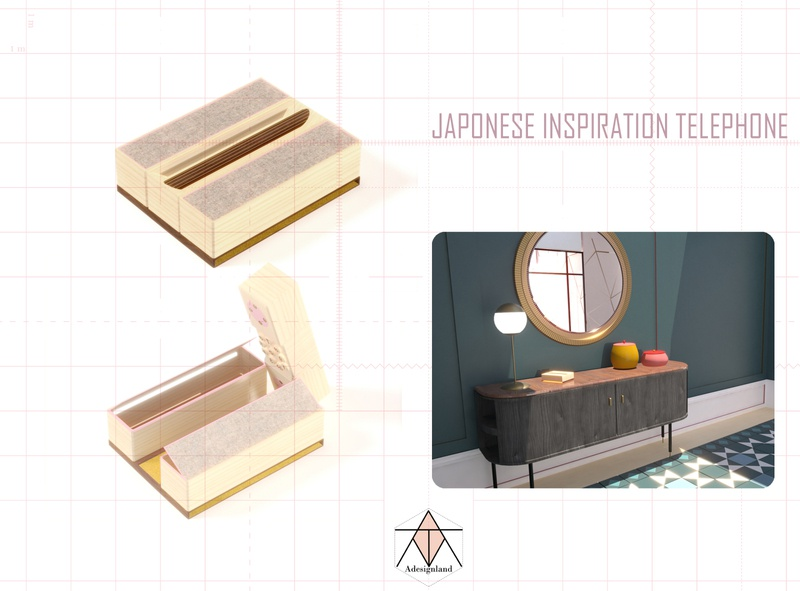japonese  TELEPHONE imagination creative design furniture design creativity interior design
