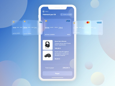Credit card Checkout with confirmation confirmation card checkout 3d ux design animation ecommerce