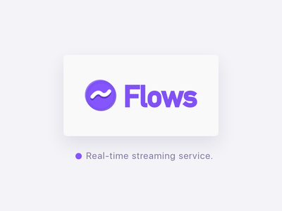 Real Time Streaming Service. video china chinese purple realtime service flows