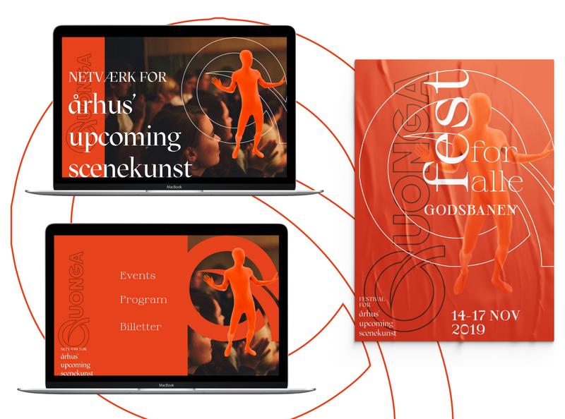 QUONGA Upcoming Performance Art Networking Brandrenewal