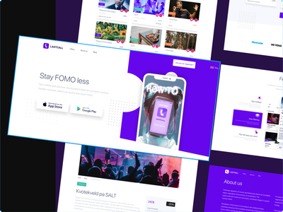 Lastcall – marketplace for events app minimal logo web illustration web design agency web design and development web design design animation