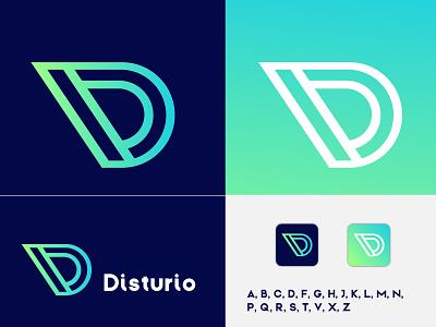 D Initial Letter Logo Design logo trends 2020 best logo designer d logo d monogram d letter d letter logo letter logo letter mark logo brand identity modern logo company logo logo branding app icon