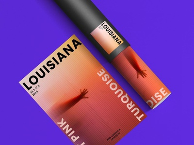 Poster desgign | Louisiana meuseum webdesign type typography illustration branding design minimal app