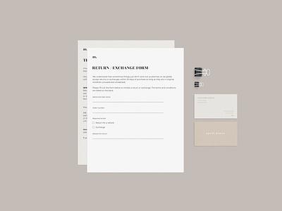 Brand identity. Documents deisgn illustration web design typography webdesign minimal branding logo design graphic designer brand identity logo design branding logo document design