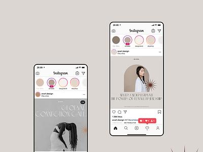 Social media design for De Trybe app flat typography webdesign minimal design branding social media design ui designer web designer freelnce designer social media posts instagram design social media