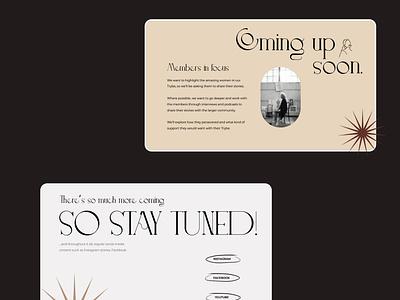 Website design for De Tyrbe company vector social media social media design graphic designer illustration typography webdesign minimal design branding